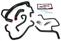 HPS Reinforced Radiator & Heater Hose Kit For 6.4L Challenger & Charger - 2015+ - Black