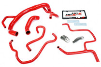 HPS Reinforced Radiator & Heater Hose Kit For 6.4L Challenger & Charger - 2015+ - Red