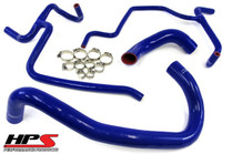 HPS Reinforced Silicone Radiator Hose Kit For Dodge Challenger SRT8 6.1L (2010) - Blue
