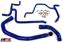 HPS Reinforced Silicone Radiator Hose Kit For Dodge Charger R/T 5.7L (2006-2010) - Blue