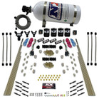 Nitrous Express Dry Direct Port System - Dual Stage - 8 Cylinders - 10lb Bottle