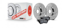 Hawk Sector 27 Brake Kit With PC Pads - Rear