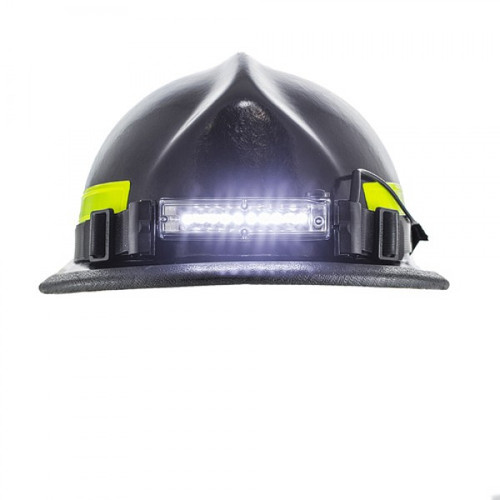 Ultra-slim 10 LED Firefighter Helmet Light with Rear Safety LED