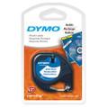 Dymo LetraTag Tape 91201 91331 12MM X 4M White Plastic