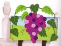 Grape Arbor Mailbox Cover