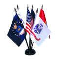 Miniature Armed Forces Flag Set