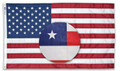 United States  Polyester/ Cotton Printed Flag