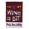 Wine A Bit Garden Flag 16480