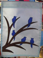 Winterbirds Mini Garden Flag