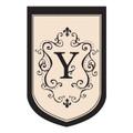 """Monogram """"Y"""""""