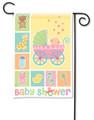 Baby Buggy Garden Flag