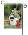 Rose Cottage Wrens Garden Flag