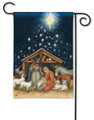 Holy Christmas Night Garden Flag