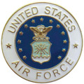 Air Force Emblem Lapel Pin