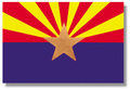 2' x 3' Arizona Flag