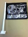 Raiders Car Flag