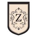 """Monogram """"Z"""""""