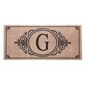 """Monogram """"G"""" Insert Mat"""