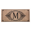 "Monogram ""M"" Insert Mat"