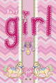 It's A Baby Girl Garden Flag