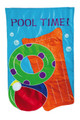 Pool Time Garden Flag