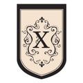 """Monogram """"X"""""""