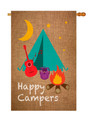 Happy Campers Banner