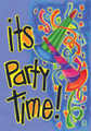 Party Poppers Banner