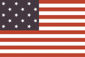 3' x 5' Star Spangled Banner Cotton