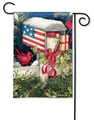 Christmas Cards Garden Flag