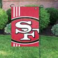 San Francisco 49ers Bold Logo Garden Flag
