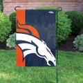 Denver Broncos Bold Garden Flag