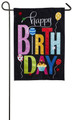 Happy Birthday Cupcake Garden Flag