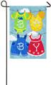 Baby Clothesline Garden Flag