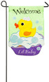 Welcome Lil Baby Garden Flag