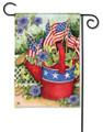 Patriotic Watering Can Garden