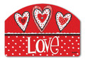 Button Valentine Yard Design