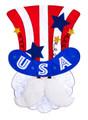 Uncle Sam Garden Flag