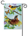 Flora and Fauna Garden Flag
