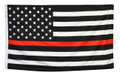 3' x 5' Thin Red Line U.S. Flag