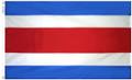 Costa Rica Flag (Civil- No Seal)