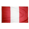 "12"" x 18"" Peru Flag (Civil- No Seal)"