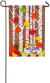 Autumn Birch Garden Flag