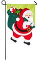 Santa Claus Garden Flag