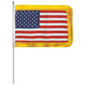 U.S Fringed Aerial Flag