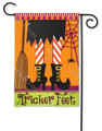 Tricker Feet Garden Flag