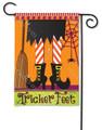 Tricker Feet Garden Flag