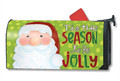 Jolly St. Nick Mailwrap