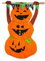 Welcome Pumpkin Totem