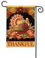 Thankful Turkey Garden Flag